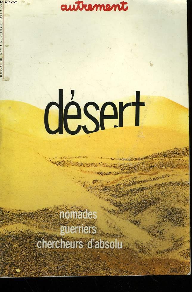 DESERT. HORS SERIE N°5.