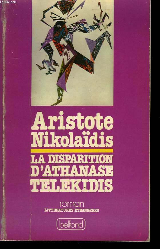 LA DISPARITION D'ATHANASE TELEKIDIS.