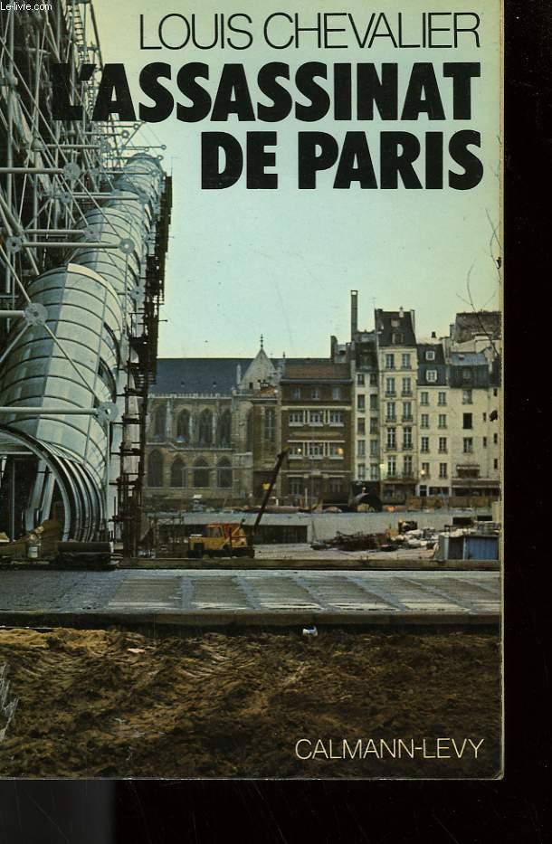 L'ASSASSINAT DE PARIS.