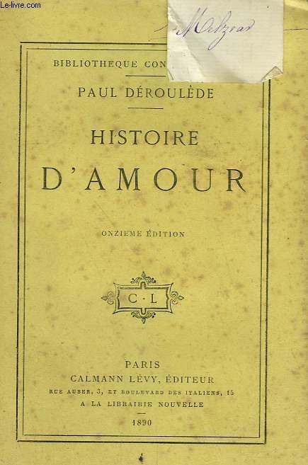 HISTOIRE D'AMOUR.