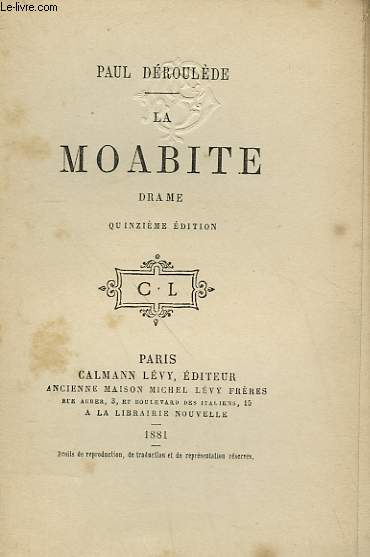 LA MOABITE.