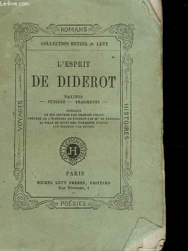 L'ESPRIT DE DIDEROT.
