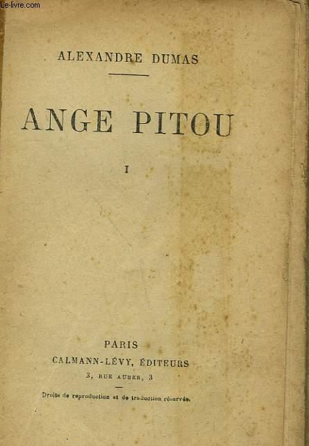 ANGE PITOU. TOME 1.