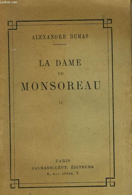 LA DAME DE MONSOREAU. TOME 2.