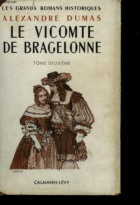 LE VICOMTE DE BRAGELONNE. TOME 2.