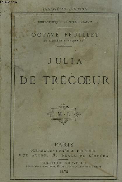 JULIA DE TRECOEUR.
