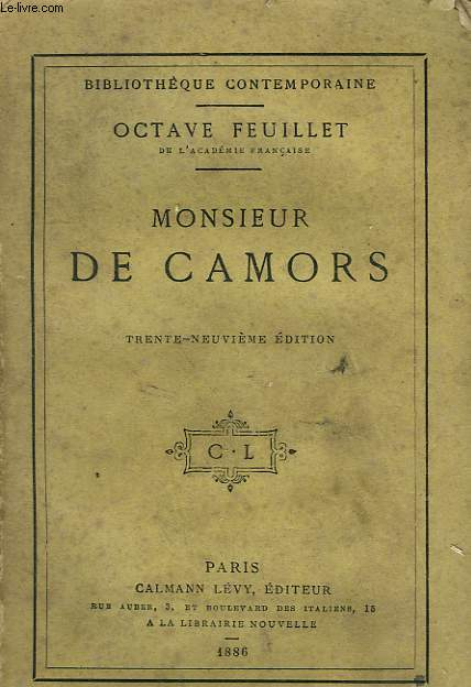 MONSIEUR DE CAMORS.