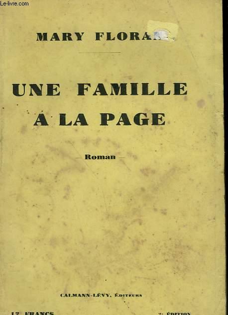 UNE FAMILLE A LA PAGE.