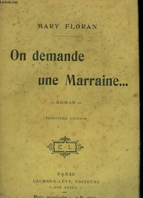 ON DEMANDE UNE MARRAINE... .