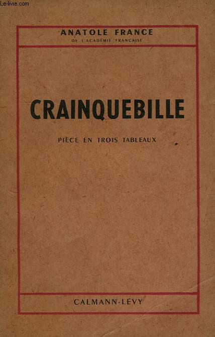 CRAINQUEBILLE.