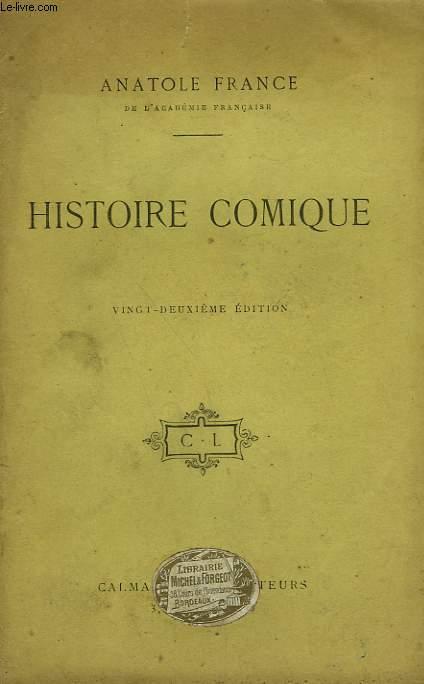 HISTOIRE COMIQUE.