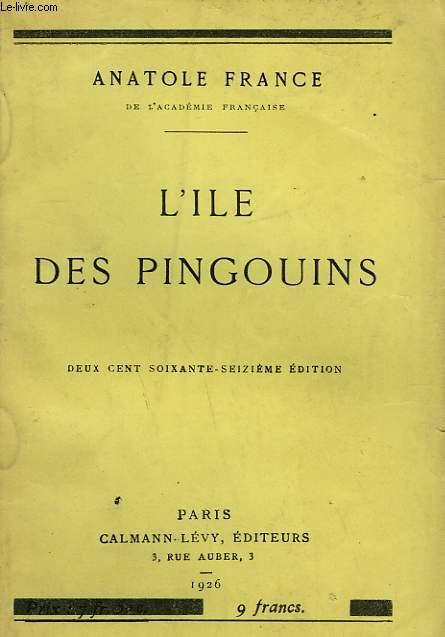 L'ILE DES PINGOUINS.
