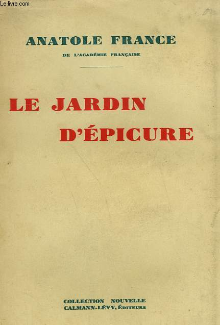 LE JARDIN D'EPICURE.