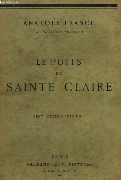 LES PUITS DE SAINTE CLAIRE.