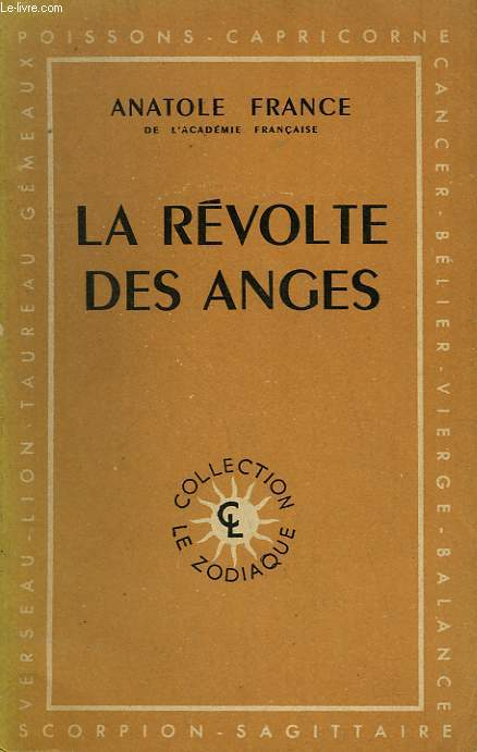 LA REVOLTE DES ANGES.