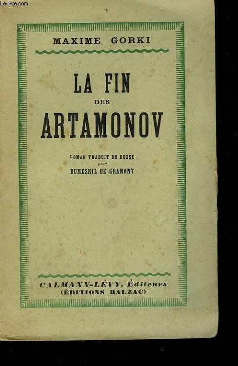 LA FIN DES ARTAMONOV.