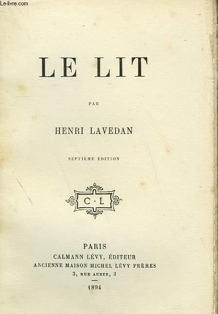 LE LIT.