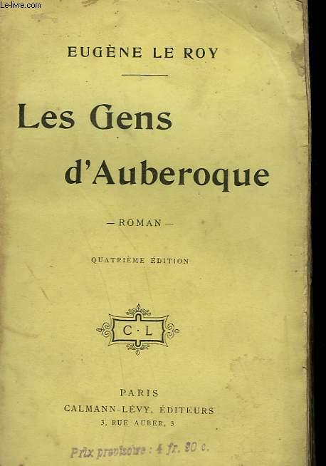 LES GENS D'AUBEROQUE.