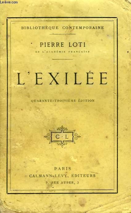 L'EXILEE.