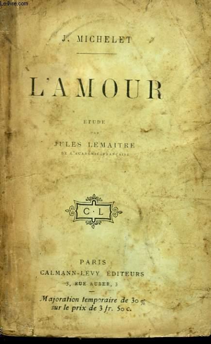 L'AMOUR.