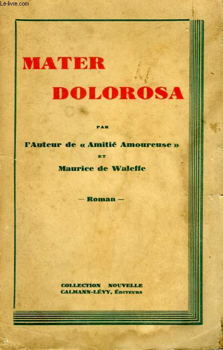 MATER DOLOROSA.