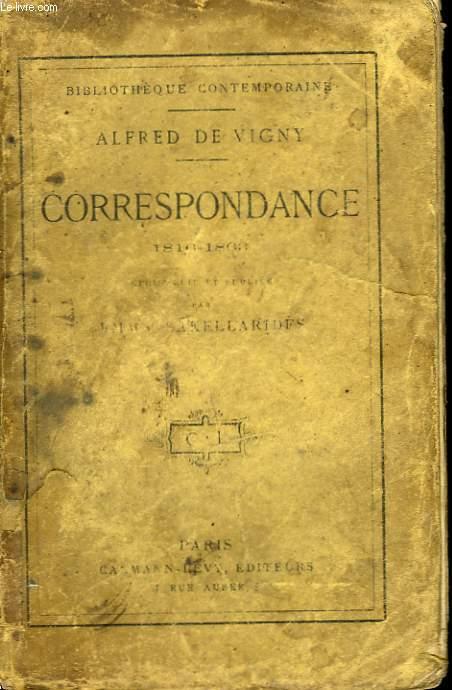 CORRESPONDANCE. 1816-1863.
