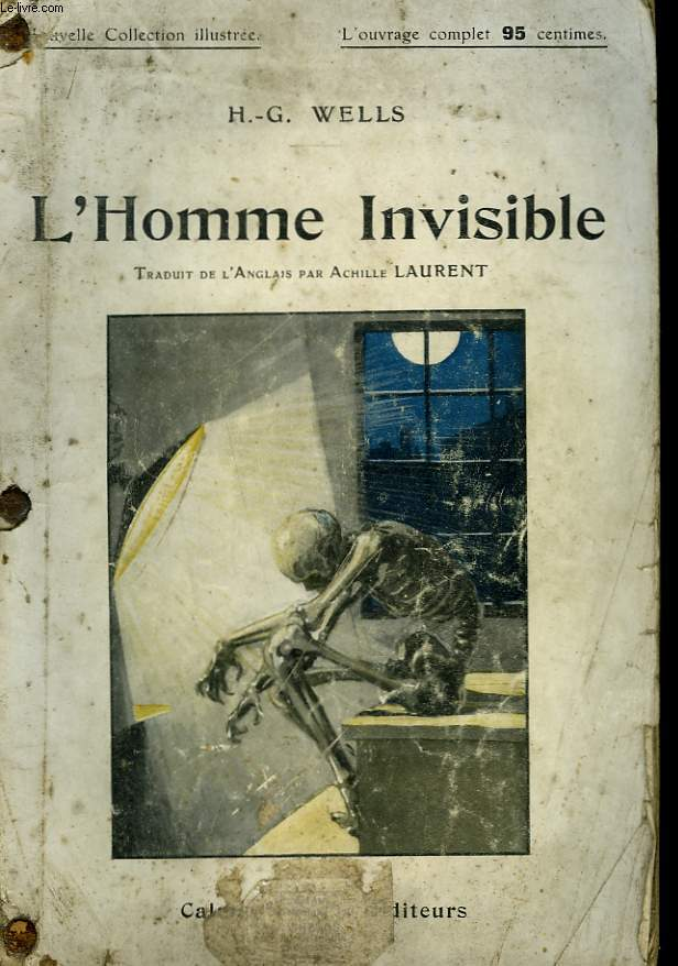 L'HOMME INVISIBLE. NOUVELLE COLLECTION ILLUSTREE N° 71.