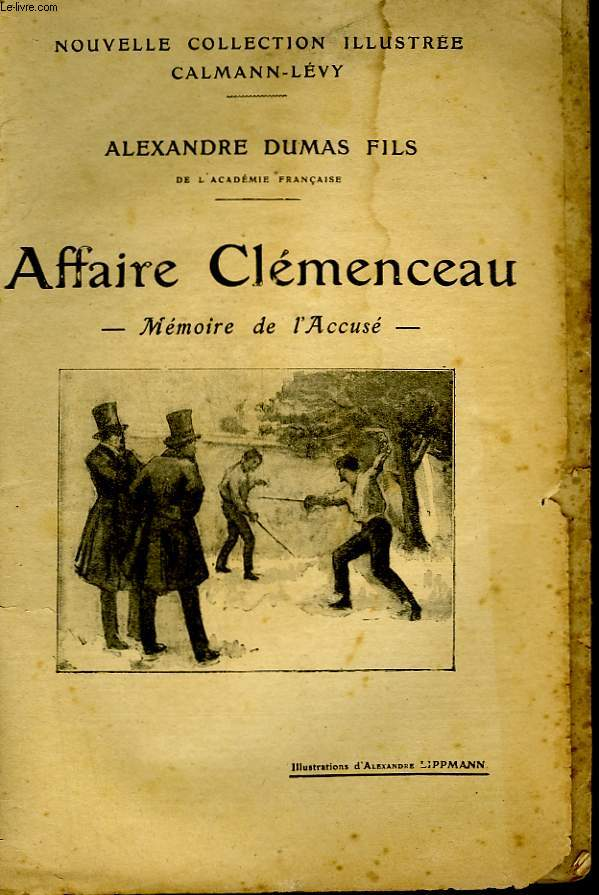 AFFAIRE CLEMENCEAU. NOUVELLE COLLECTION ILLUSTREE.