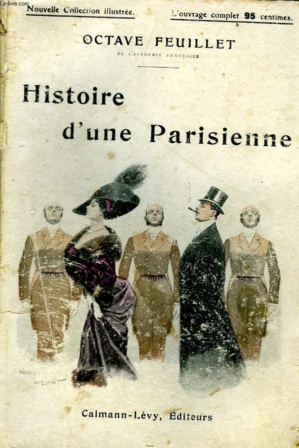 HISTOIRE D'UNE PARISIENNE. NOUVELLE COLLECTION ILLUSTREE.
