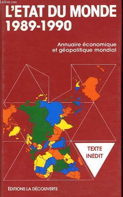L'ETAT DU MONDE. 1989-1990.