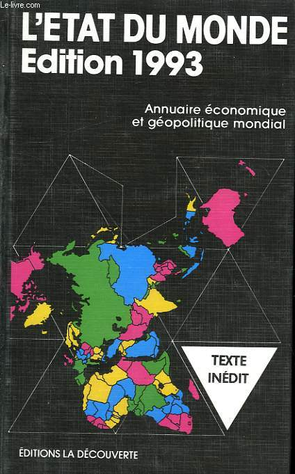 L'ETAT DU MONDE. 1993.
