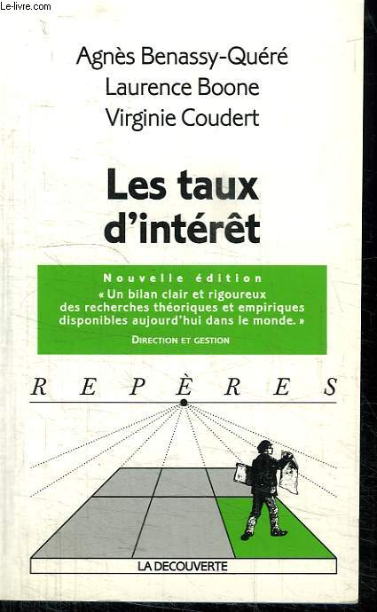 LES TAUX D INTERET. COLLECTION REPERES N° 251