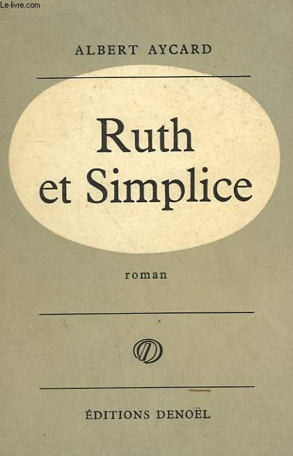 RUTH ET SIMPLICE.