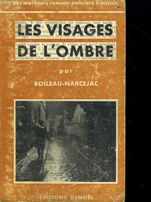 LES VISAGES DE L'OMBRE.