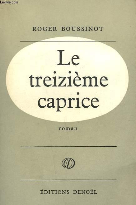 LE TREIZIEME CAPRICE.