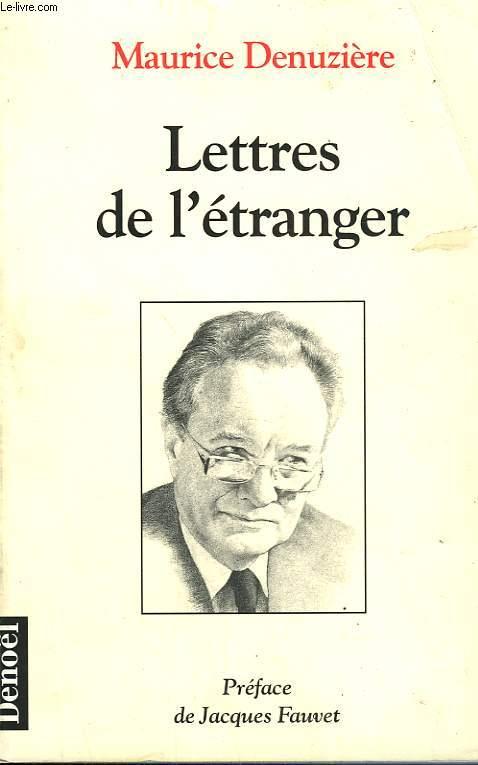 LETTRES DE L'ETRANGER.
