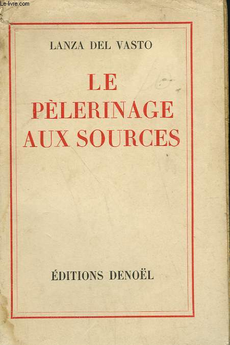 LE PELERINAGES AUX SOURCES.