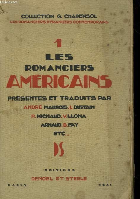 LES ROMANCIERS AMERICAINS.