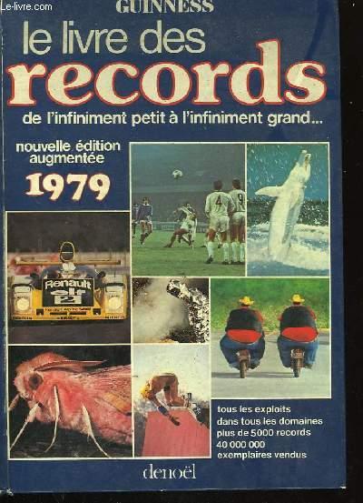 LE LIVRE DES RECORDS. 1979.