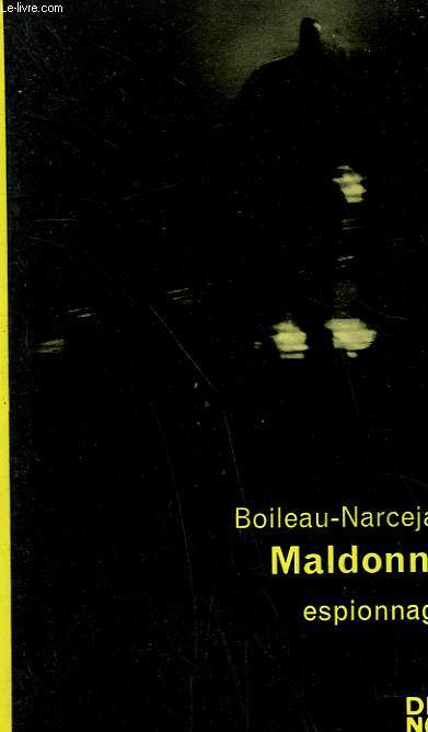 MALDONNE. COLLECTION CRIME CLUB N° 205