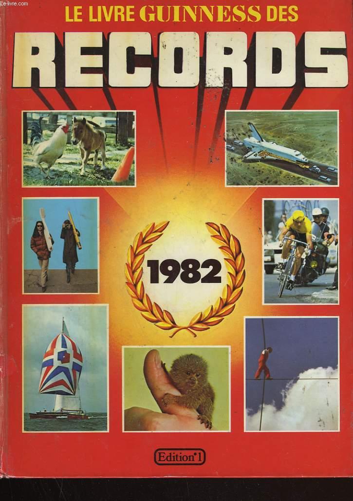 le livre guinness des records 1981 mcwhirter norris. Black Bedroom Furniture Sets. Home Design Ideas