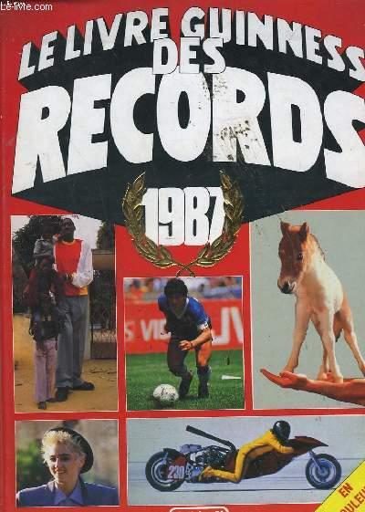 le livre guinness des records 1987 mcwhirter norris. Black Bedroom Furniture Sets. Home Design Ideas