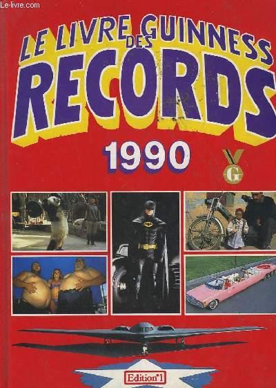 le livre guinness des records 1990 mcwhirter norris. Black Bedroom Furniture Sets. Home Design Ideas