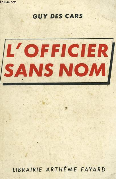 L'OFFICIER SANS NOM.