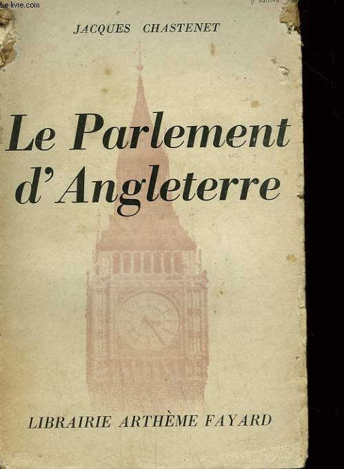 LE PARLEMENT D'ANGLETERRE.