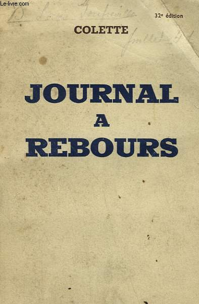 JOURNAL A REBOURS.