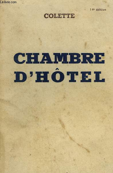 CHAMBRE D'HOTEL.