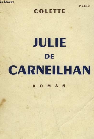 JULIE DE CARNEILHAN.