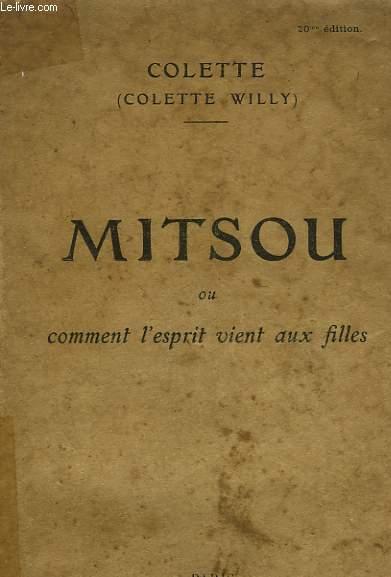 MITSOU OU COMMENT L'ESPRIT VIENT AUX FILLES.