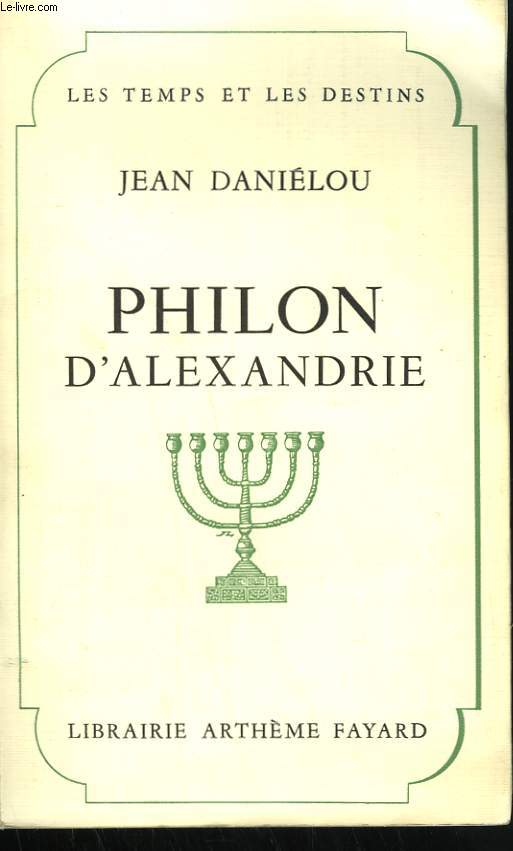 PHILON D'ALEXANDRE.